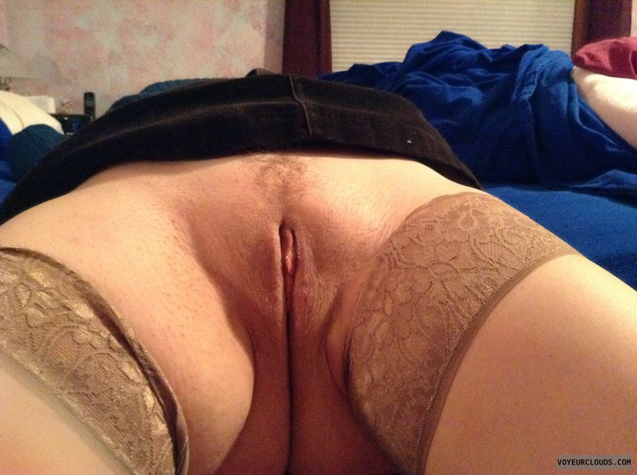 stockings, lips, trimmed, wet, milf pussy