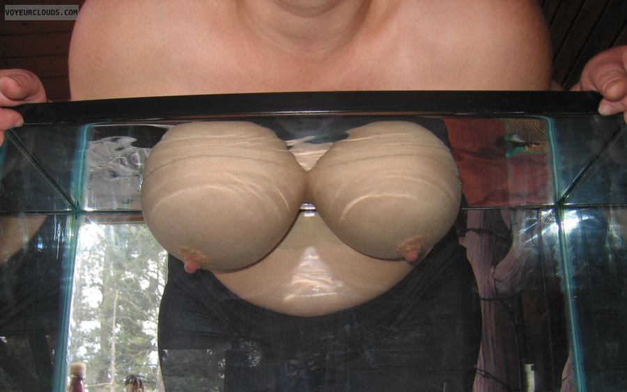 wife tits, wife nipples, big tits, big boobs, hard nipples