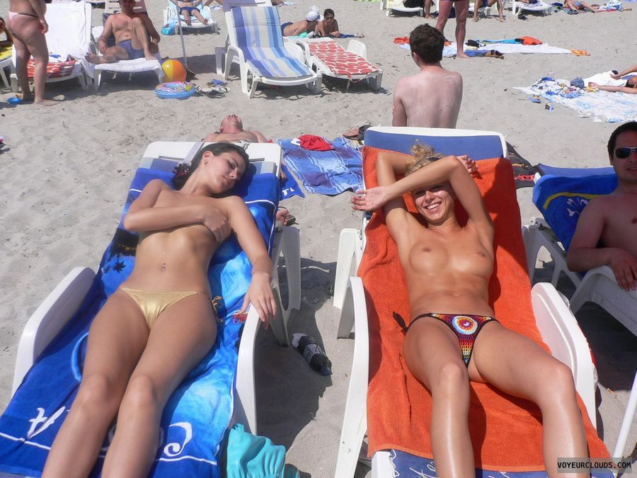 beach voyeur naked Friends