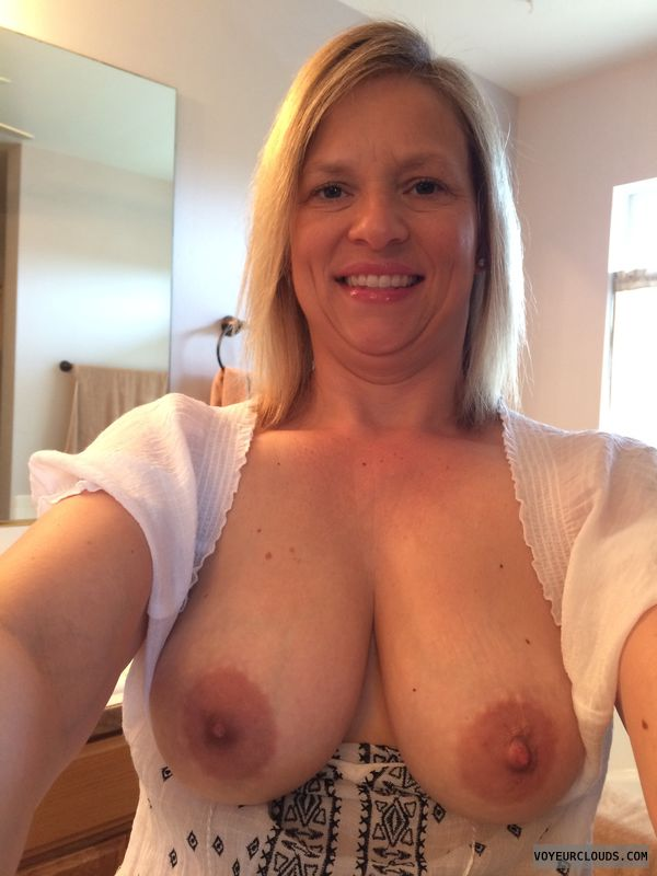 big tits, hard nipples, tits out