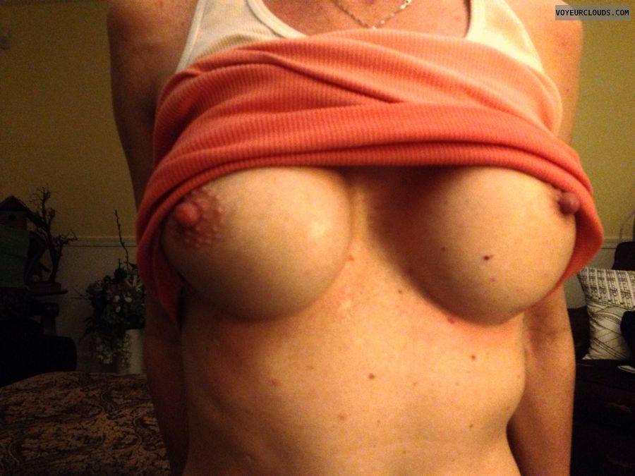 wife tits, wife nipples, hard nipples, milf titties