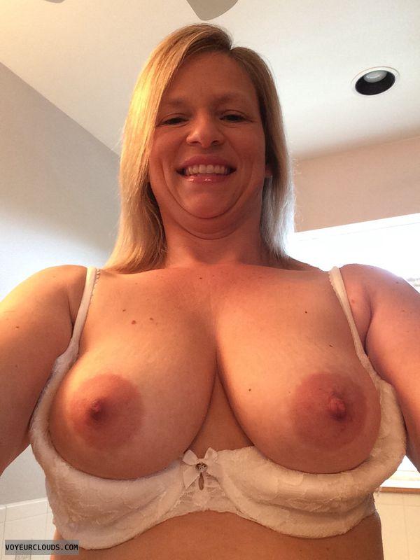 wife tits, sexy wife, wife nipples, blonde milf, sexy milf