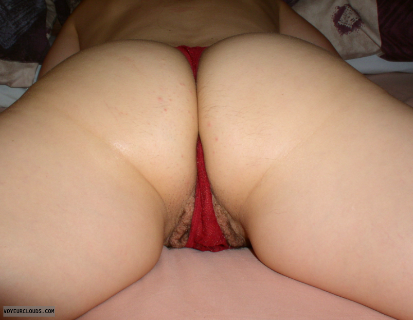 wife pussy fuck behind