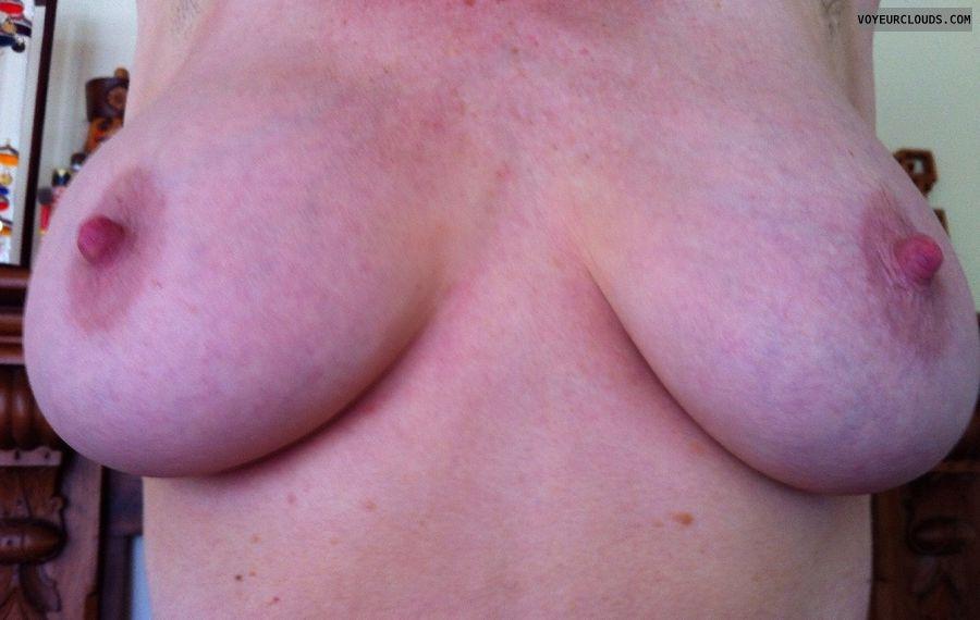 milf tits, milf nipples, big nipples, erect nipples