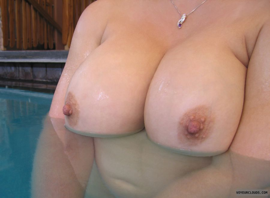 wife tits, wife nipples, big boobs, big tits, pink nipples