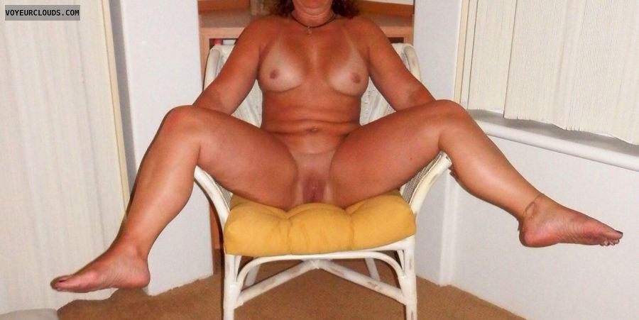 nude milf, nude wife, smooth pussy, milf pussy, spread legs