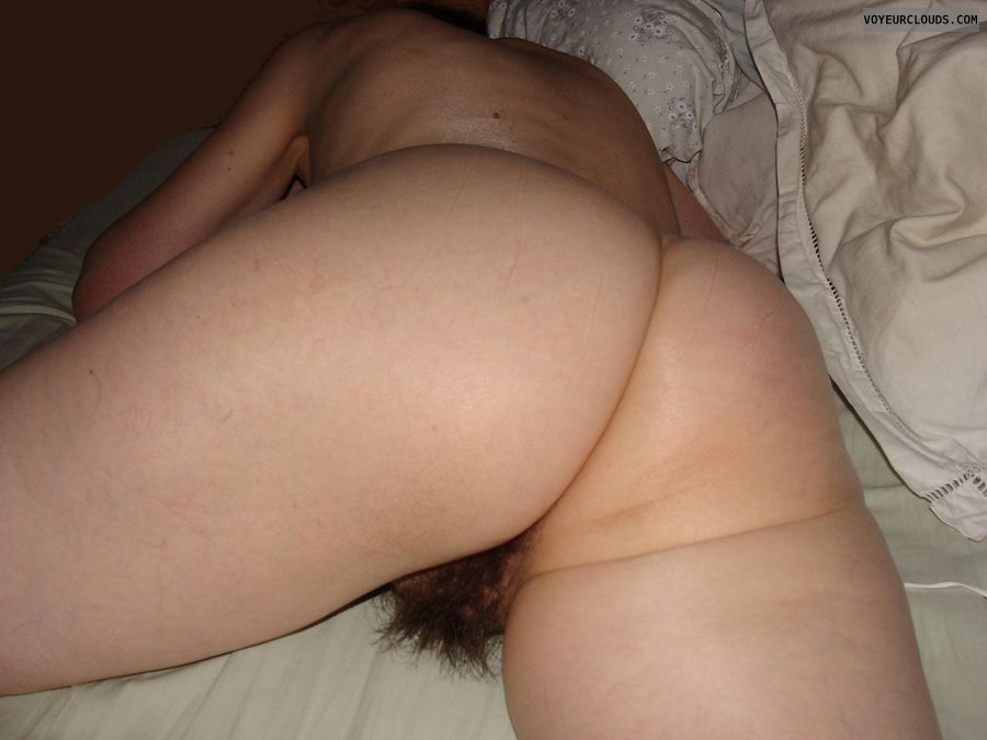 Hairy wife butt nude