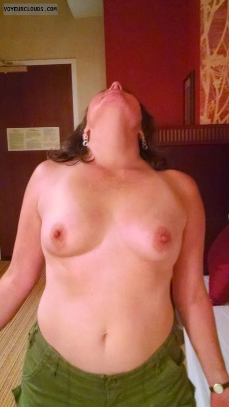 topless milf, wife tits, topless wife, wife nipples