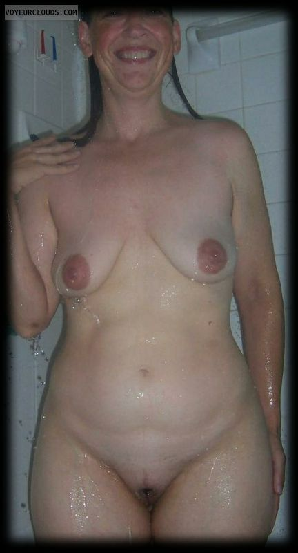 milf pussy, wife pussy, wife tits, milf tits, shower