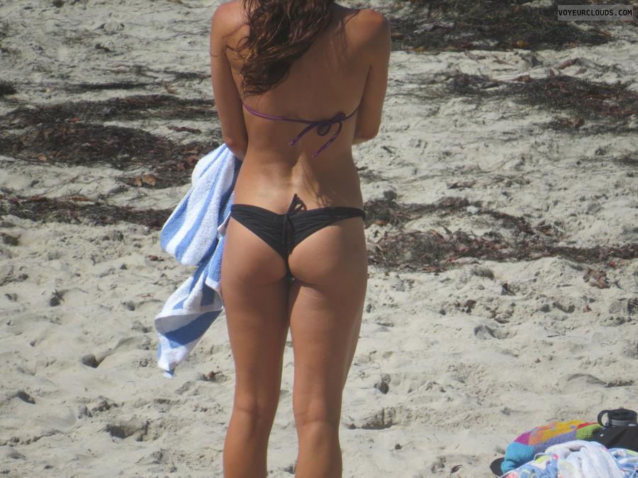 Beach butt voyeur