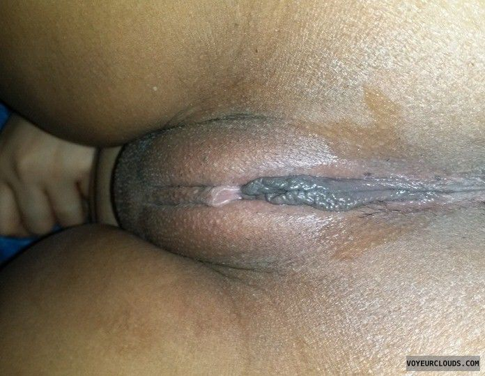 sexy tight shaved pussy close up
