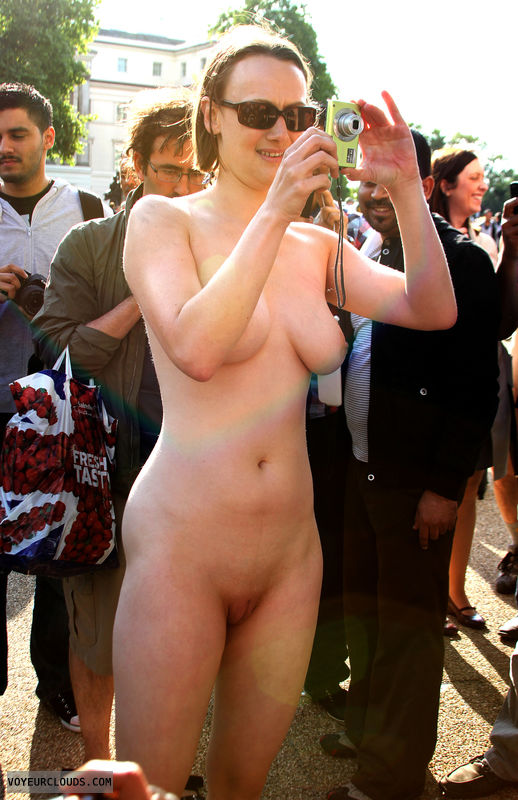 wnbr, shaved pussy, pussy lips, tits, boobs, nude