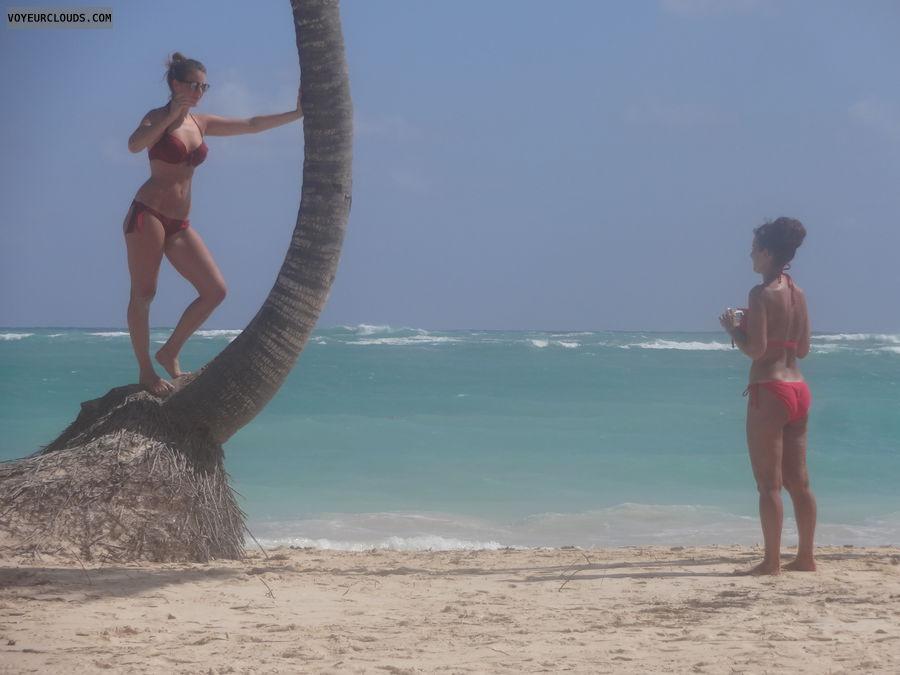 beach voyeur, bikini voyeur, beach, bikini