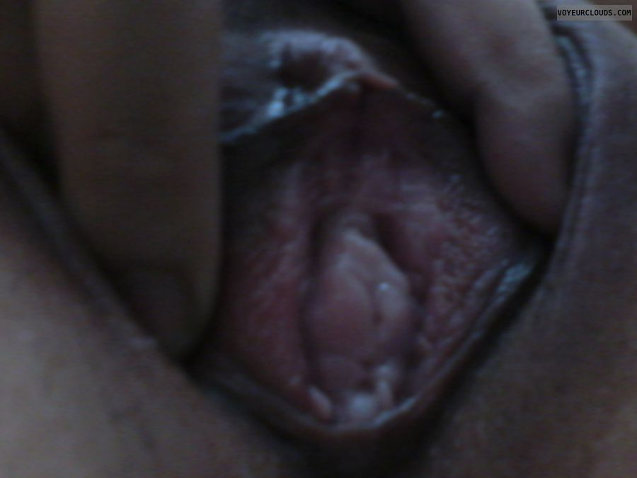 spread pussy lips, wet pussy, shaved pussy, selfie