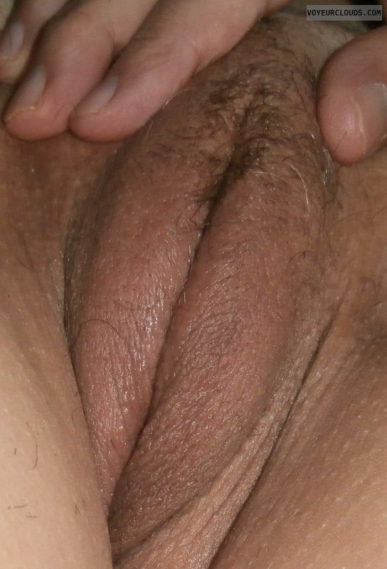 wife pussy, trimmed pussy, wet pussy, close up