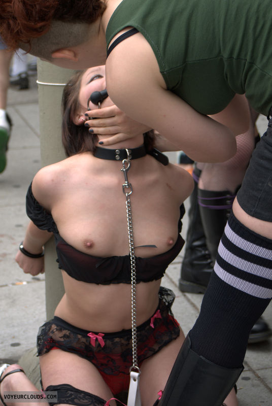 Folsom Street Fair, public, domination, nips