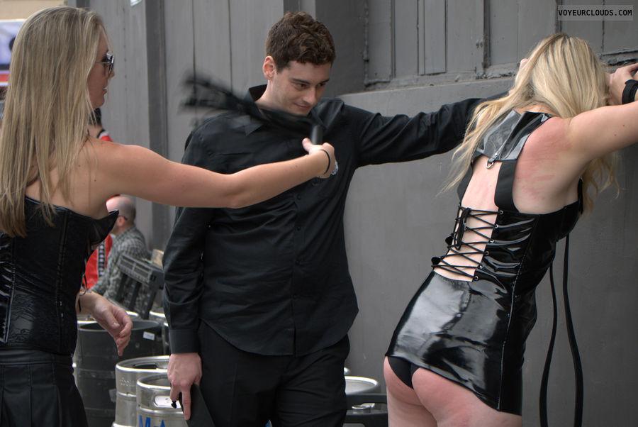Impromptu, Folsom Street Fair, public, flogging