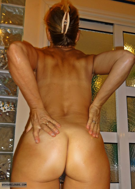 wife ass, hot ass, pussy peek, ass tanlines