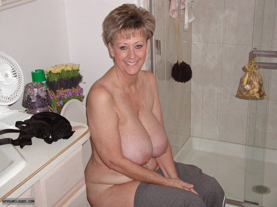 Huge mature nipples