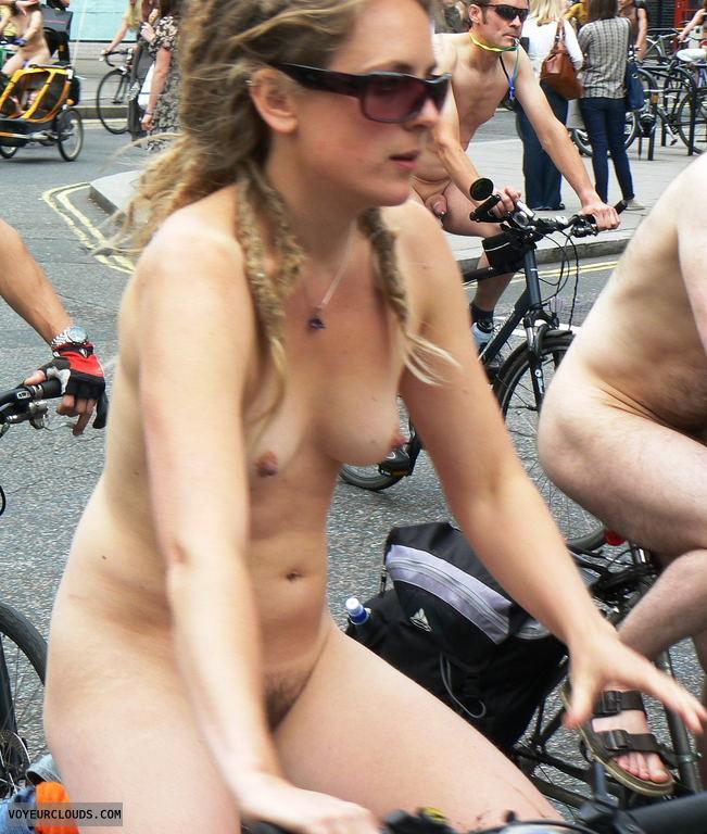 street voyeur, nude biking
