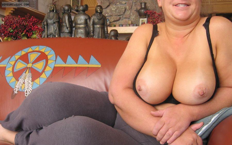 Boobies, Cleavage, Indoor Nudity