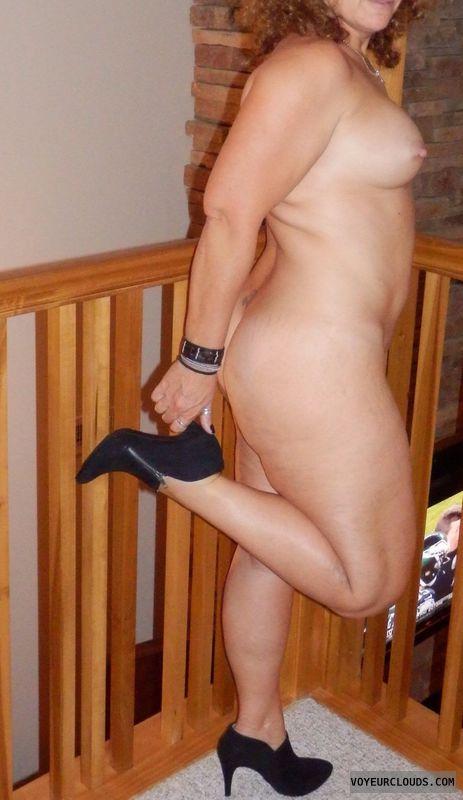 Nude Wife, Nude MILF, MILF Tits, Heels, MILF Ass