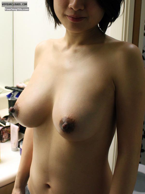 big boobs, dark nipples, hard nipples, topless, vcity hall of fame