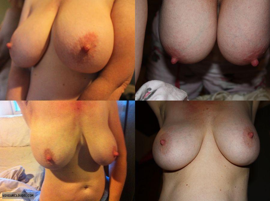 Big tits, erect nipples, big nipples, milf