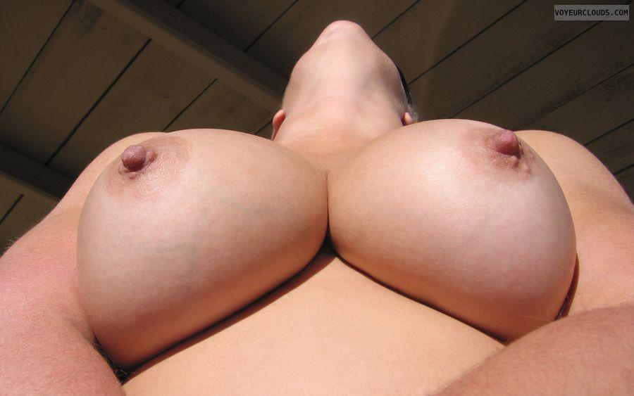big tits, hard nipples, round tits, wife tits