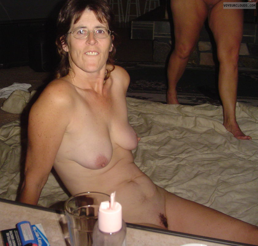 Nude wife with small boobs