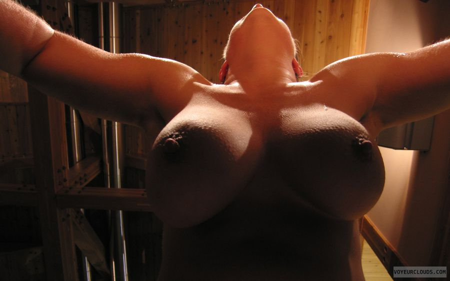 big tits, big boobs, nude wife, Cleavage, Hard Nipples