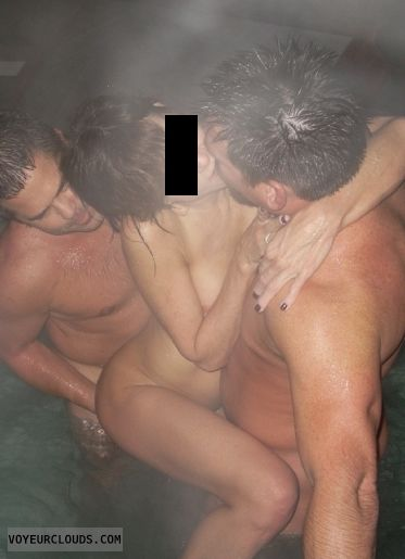 group sex, threesome, sex, fuck, wet skin