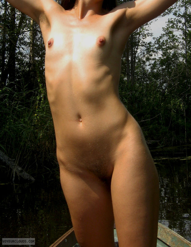 skinny, small boobies, naked girl, small titties, hard nipples