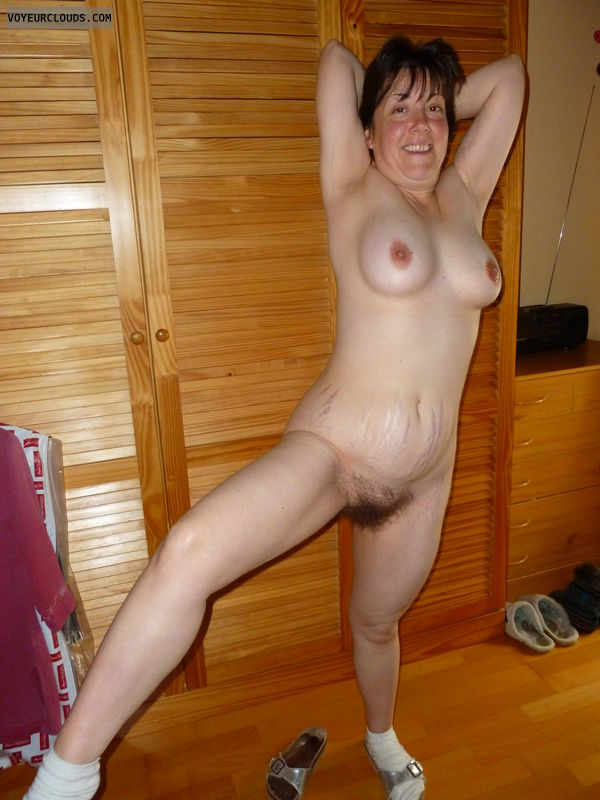 nude wife, SweetClaire, pale skin, nude milf, mature
