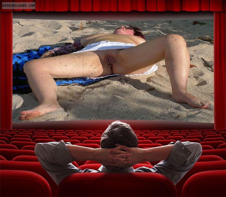 exhibitionism, one man show, upskirts, open legs
