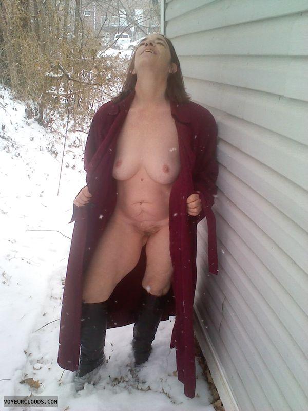 Nude Outdoors Photo - Fiftypluswolf Amateur Wife Blog-8258