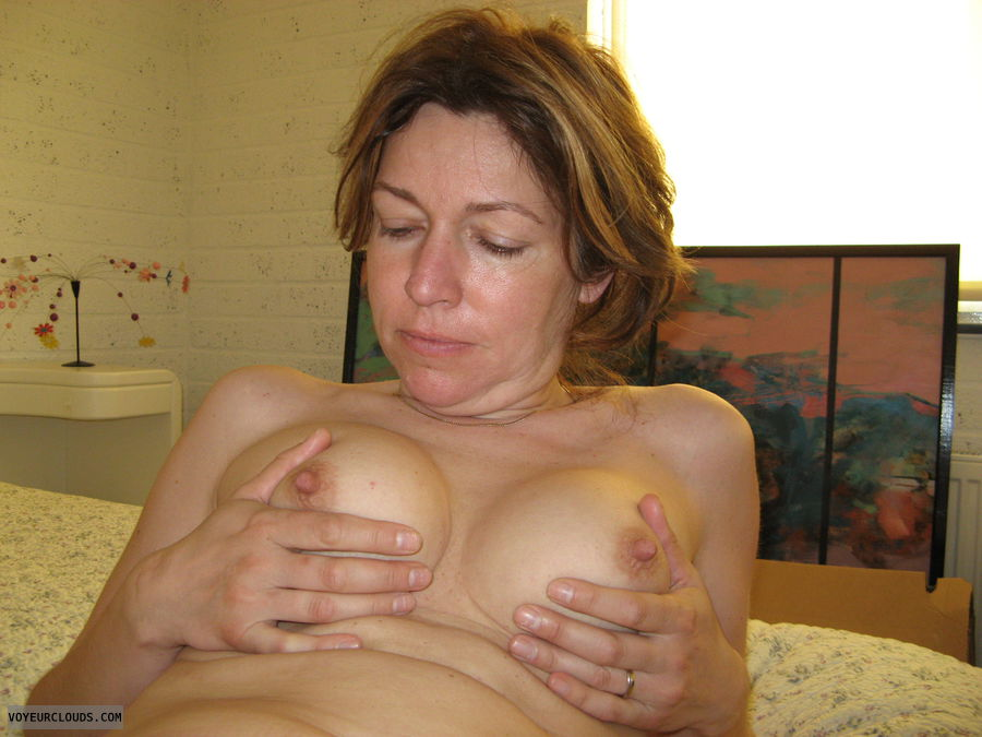 small tits, hard nipples, pink nipples