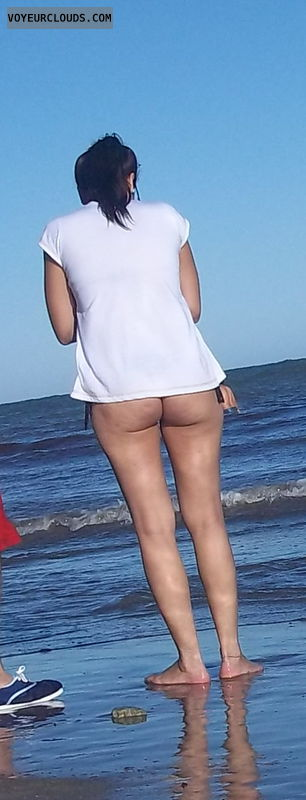 voyeur, beach, ass