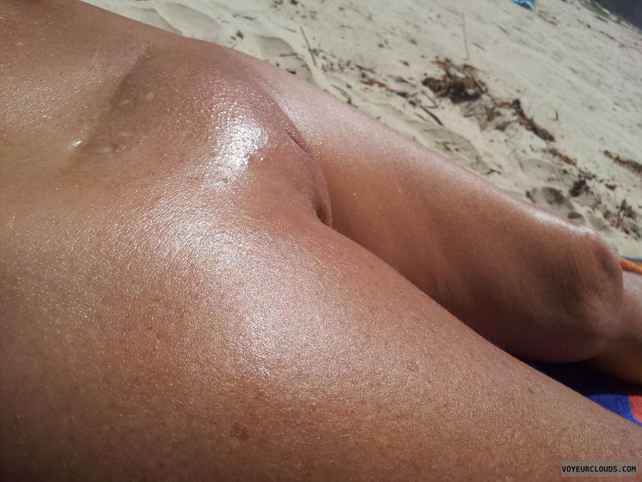 oiled up at nude beach hung guys watching mmm