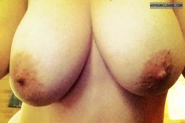 big tits, big boobs, hard nipples, selfie