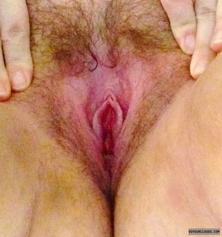 hairy pussy, pink pussy, spread lips, spread pussy
