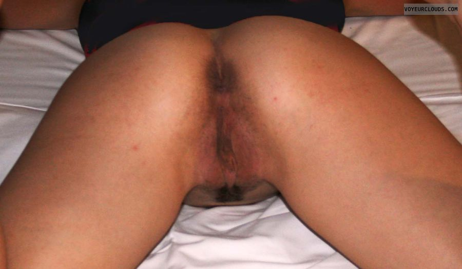 open ass, ass, wife, amateur wife, hairy pussy, pussy