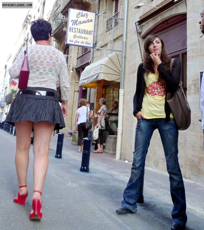 upskirt, Mini Skirt