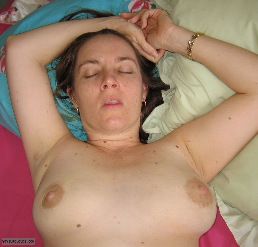 medium tits, hard nipples, topless, sex