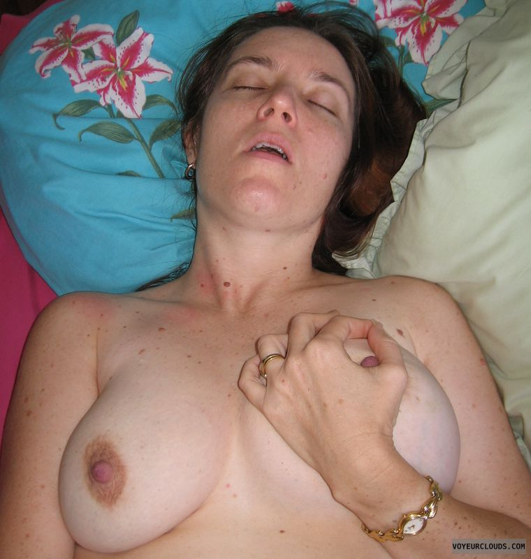 medium tits, hard nipples