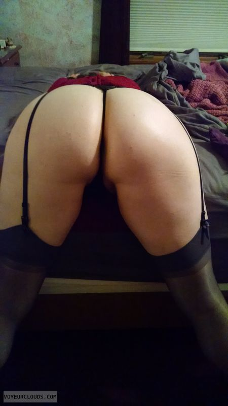 round ass, wfi, bent over, Stockings, Upskirt, Bent over