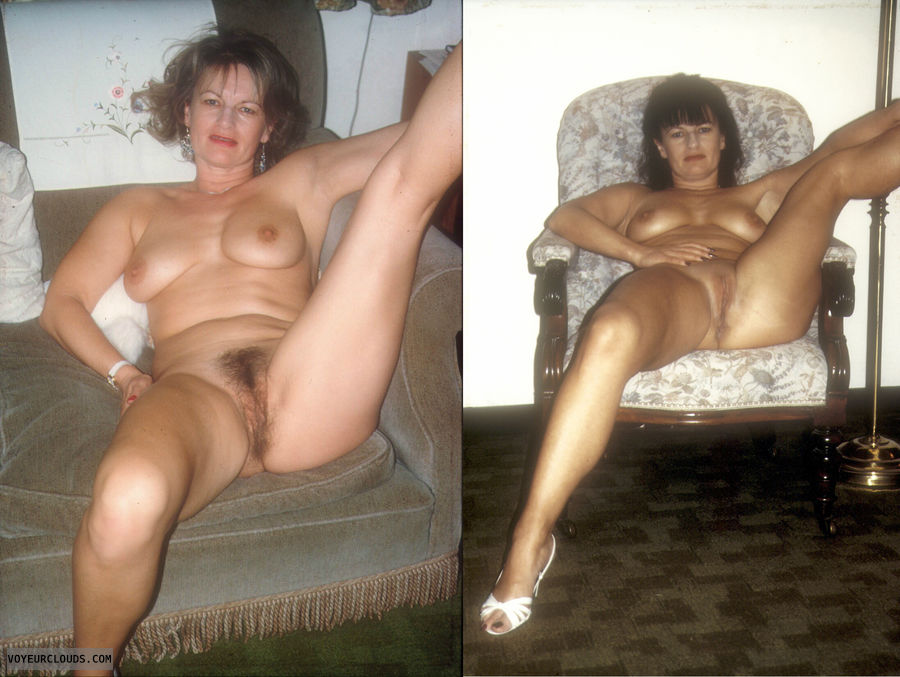 Wunderful mother shaved vs hairy pussy sister the