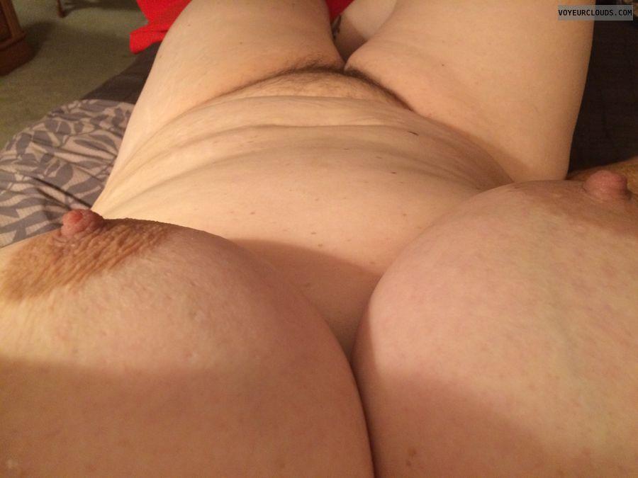 erect nipple, selfie, legs, milf