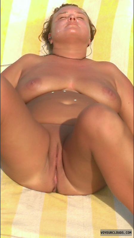 Nude Wife, Nude Women, shaved pussy, smooth nipples