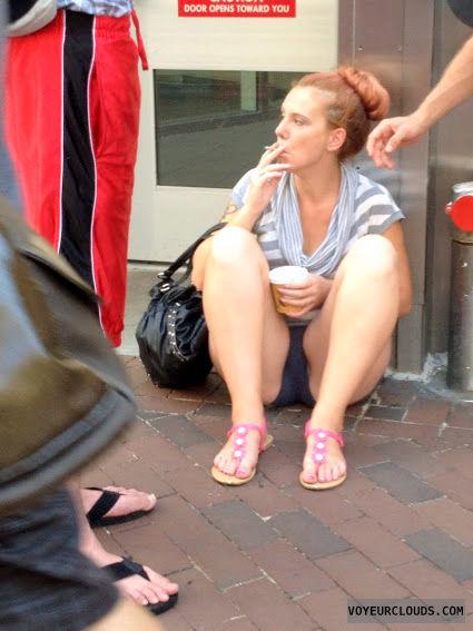 street voyeur, candid, philly, crotch shot, creep